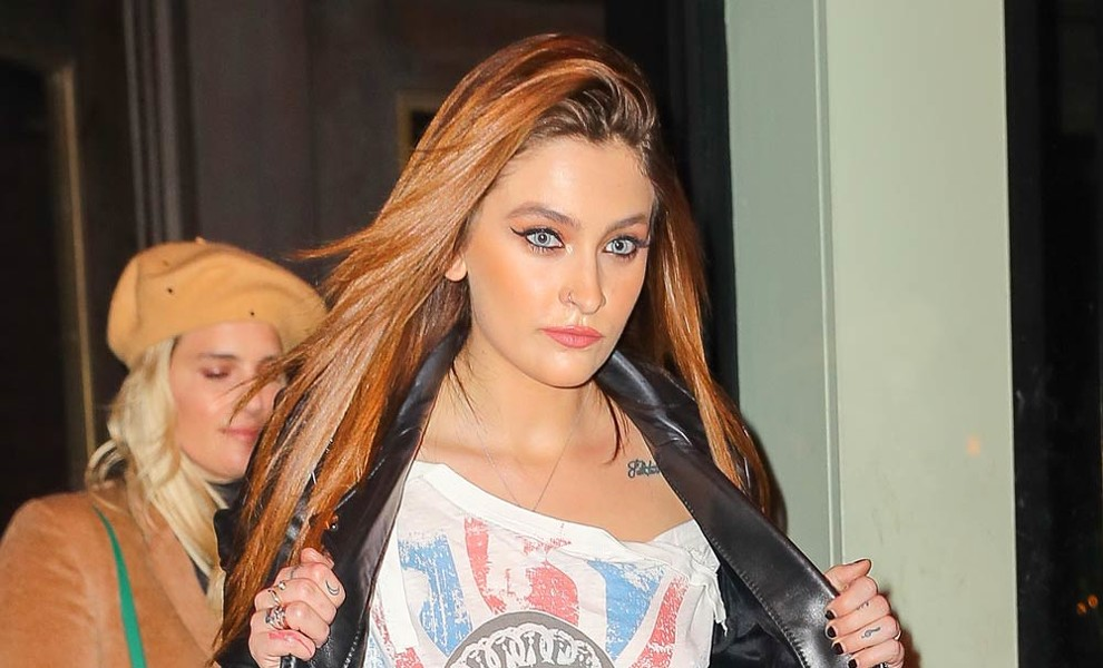 Paris Jackson ingresa en rehabilitación de forma voluntaria