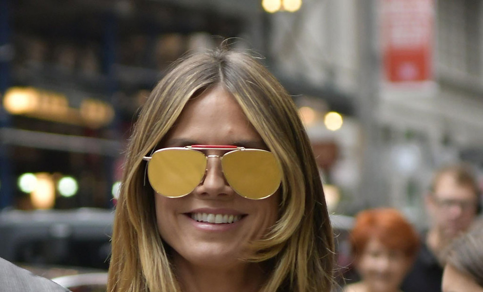 Copia el look de Heidi Klum