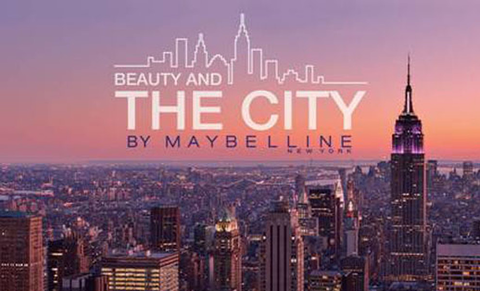 "Maybelline NY lanza su espacio online ""Beauty and The City"""